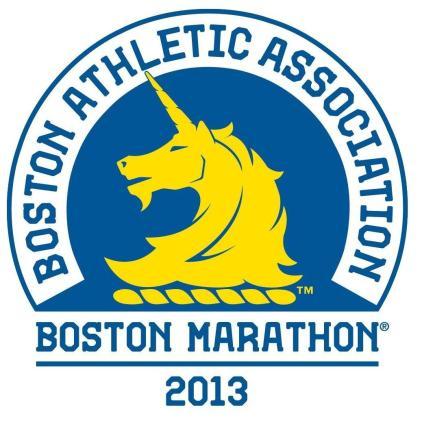 Boston Marathon logo 2015