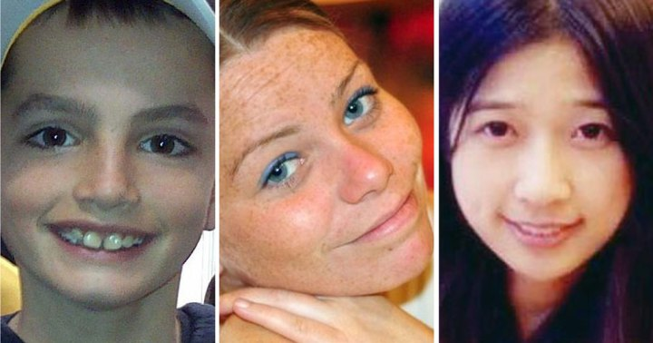 The three killed by the blasts