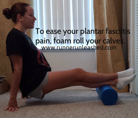calves foam roll