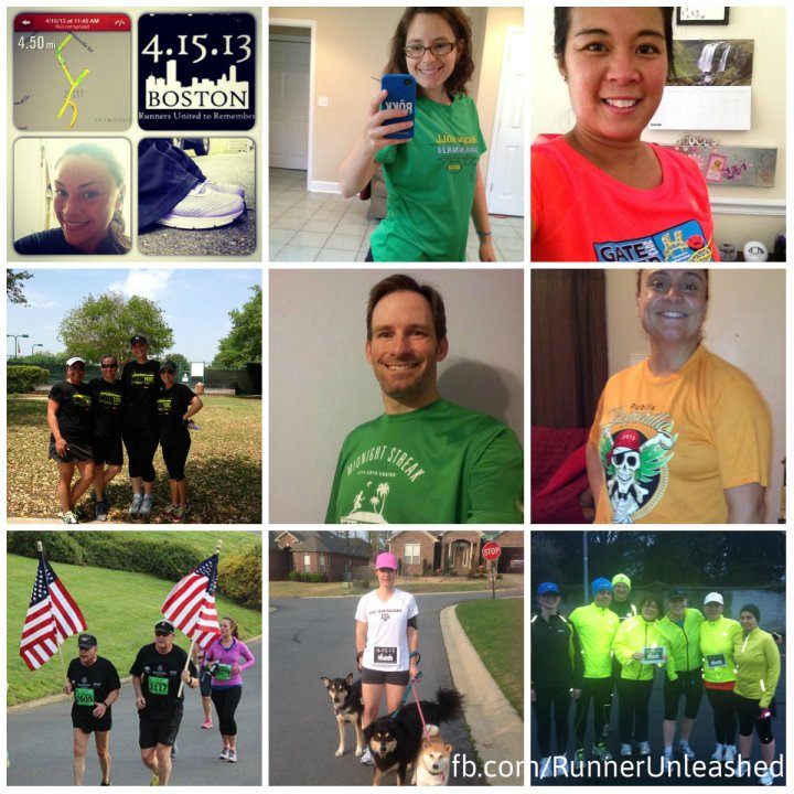 Runners who ran in honor of Boston