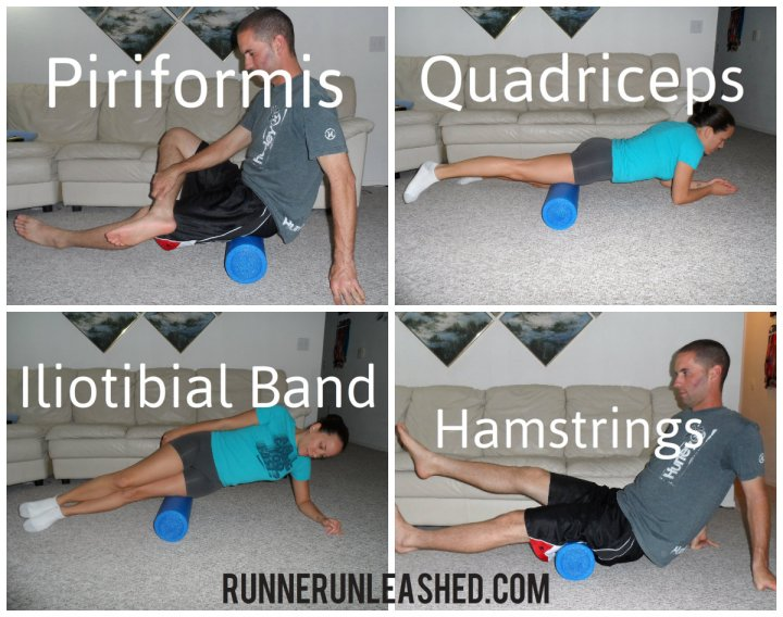 All these foam rolling exercises will help runner's knee pain