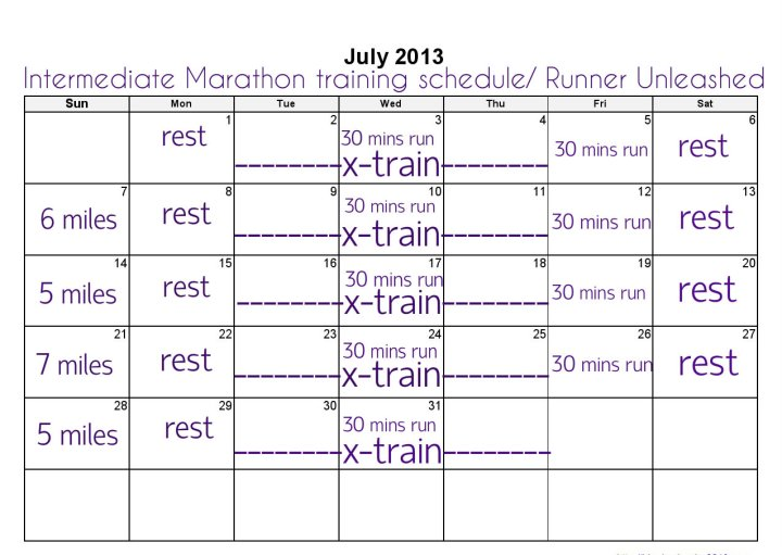 Blank Calendar July 2013done