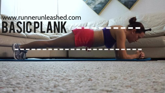 This is what a basic plank should look like
