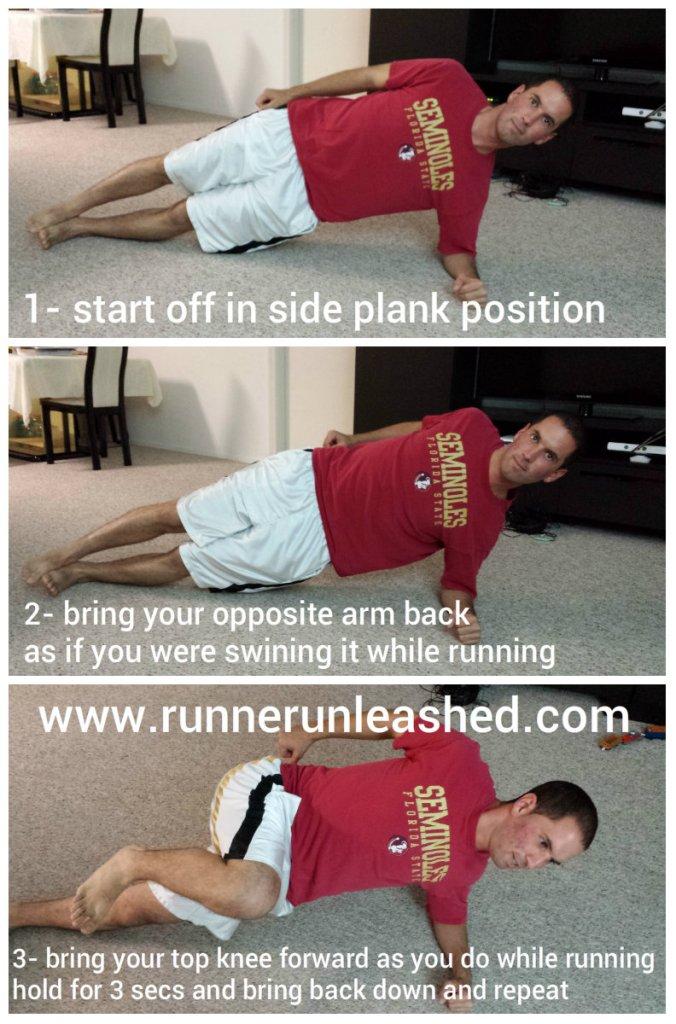 Running Plank