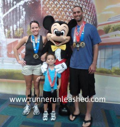 family of runners