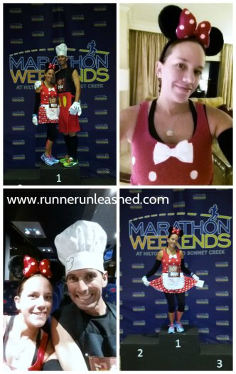Marathon Weekends send off party at Hilton Bonnet Creek