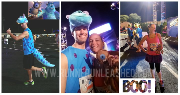 Sully and Boo from Monsters Inc.