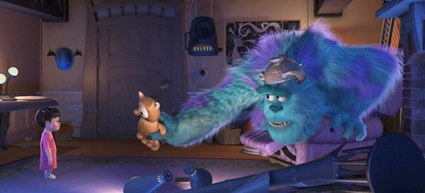 monsters-inc-boo-and-sulley-toy-bear-kitty-john-goodman-review