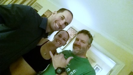 Alpha, Joe my PT, and me!