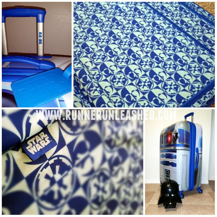 R2D2 American Tourister Luggage