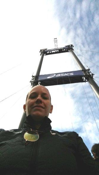 ASICS world's largest selfie stick